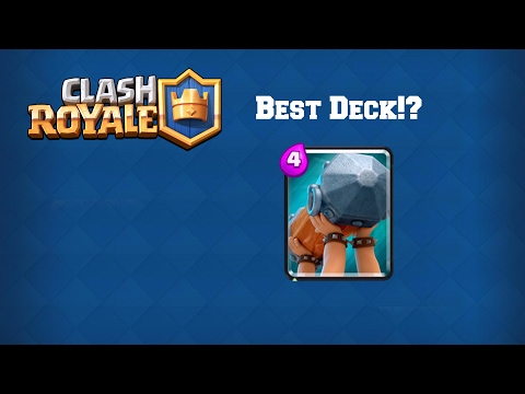 Best Battering Ram Challenge Deck Ever!?