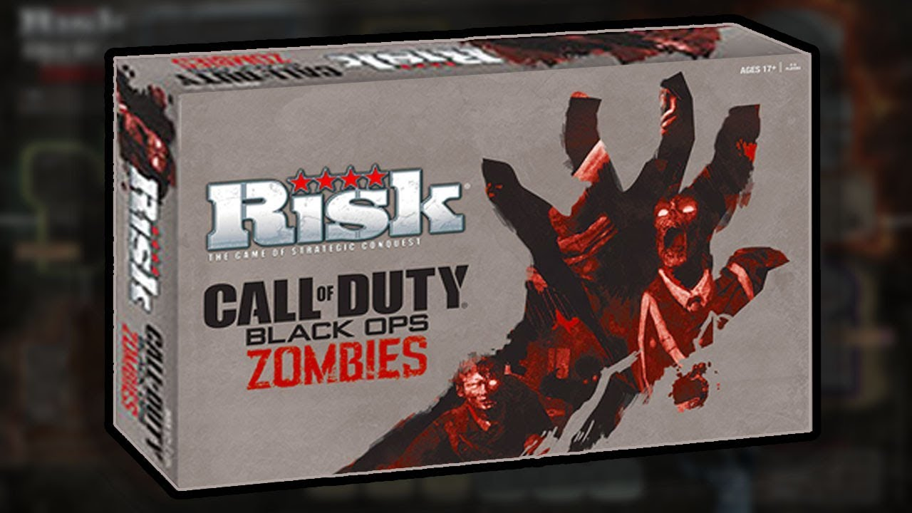 Official Cod Zombies Board Game Origins Staffs Play Pieces Risk