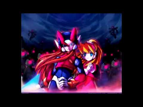Megaman Zero and Ciel in (love)