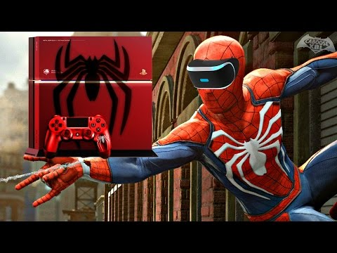 Generate Spider-Man PS4 - Playstation VR, Custom PS4? (Q&A) Images
