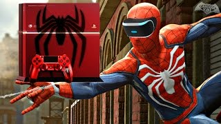 Spider-Man PS4 - Playstation VR, Custom PS4? (Q&A)