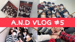 [VLOG #5] AND브이로그/고등학생/동아리/밴드부…
