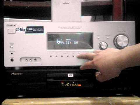 Amplificador Receptor Home Theater Sony Muteki Str K1500 6