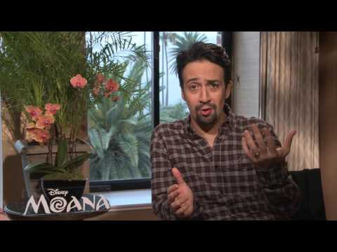 Moana: Lin - Manuel Miranda Official Movie Premiere Interview
