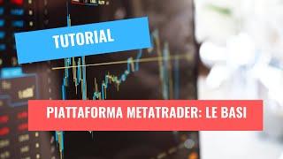 Piattaforma Metatrader : le funzioni di base