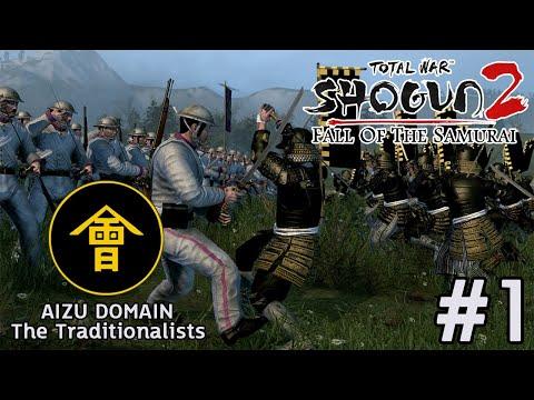 Total War : Shogun 2 Fall of The Samurai  แคว้น Aizu 1 ซามูไรหลงยุค