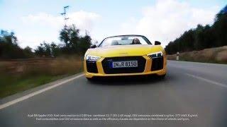 The Audi R8 Spyder 2016