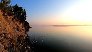Рыбалка на Сурском водохранилище Ловля ЛЕЩА на фидер ЛЕТО 2021 Клёв ЛЕЩА на утренней зорьке
