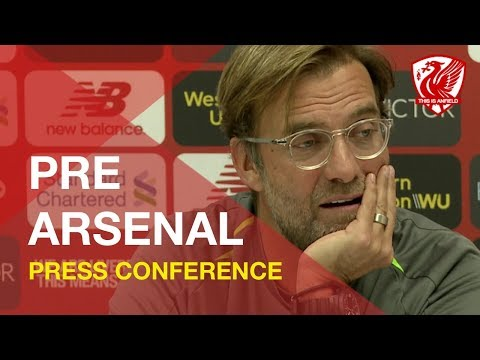 Arsenal vs. Liverpool | Jurgen Klopp Press Conference