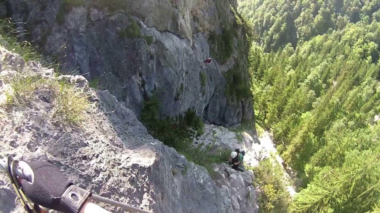 Klettersteigset Verleih Berchtesgaden : Grünstein klettersteig isidor berchtesgaden königssee 2013 via