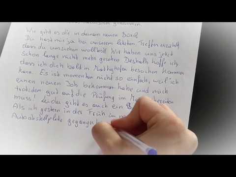 Deutsch Prüfung Brief (B 1 und A 2) schreiben: ✉ 2 private Briefe und 1 formelle eMail