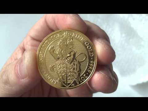 Royal Mint 2016 Gold 1 oz Queen