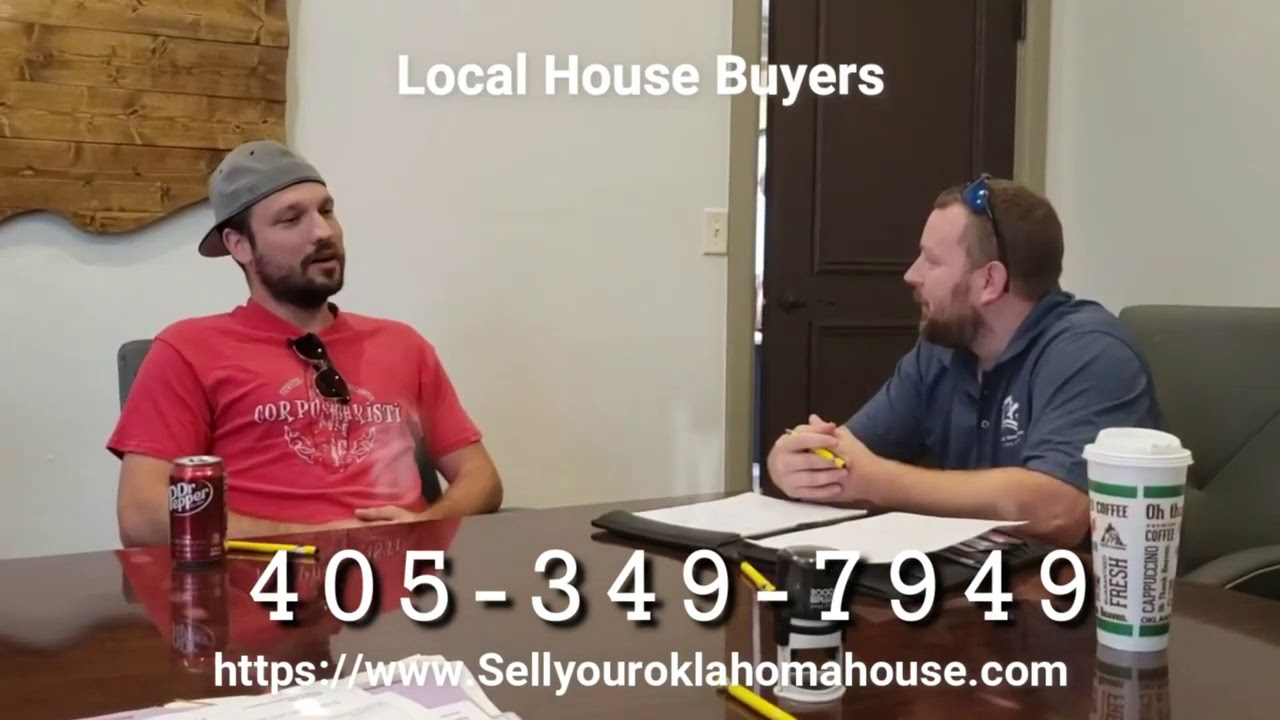 Local House Buyers closing with Logan and buying his okc house for cash
