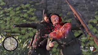 Sniper Elite 4 Brutal X-Ray Killcam and Takedown Compilation