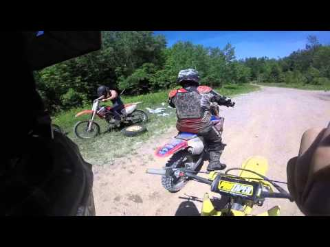 Best day ever , Dirt bike Group trail ride
