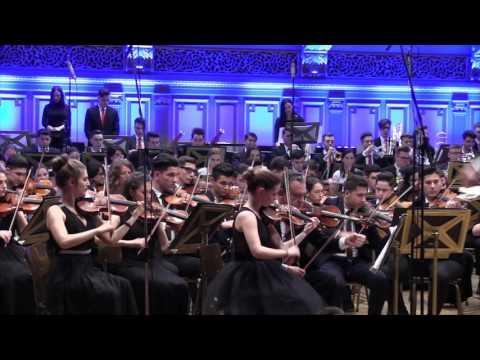 """""""Lipatti 100"""" - Concert aniversar - 2017 - Orchestra simfonica și Corul CNA """"D.Lipatti"""" - București"""