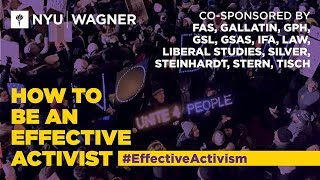 How to be an Effective Activist 2018: A Training on Nonviolent Action