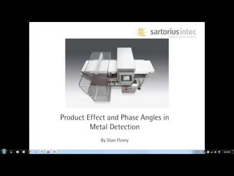 Product Effect and Phase Angles in Metal Detection