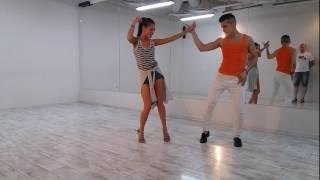 Занятия по бачате №5 движения попой/ Lesson for bachata #5 motion booty