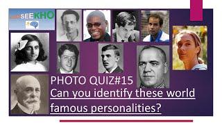 Photo Quiz #15- Famous Personalities Quiz/Trivia - Challenging General Knowledge Quiz/Trivia screenshot 4