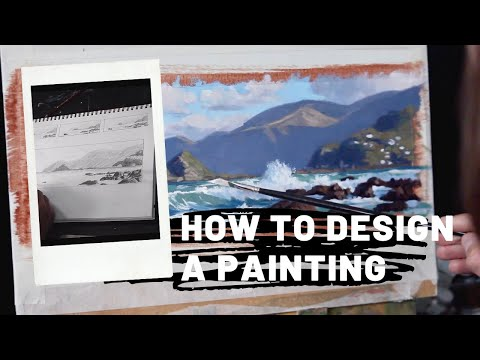 How to DESIGN A PAINTING