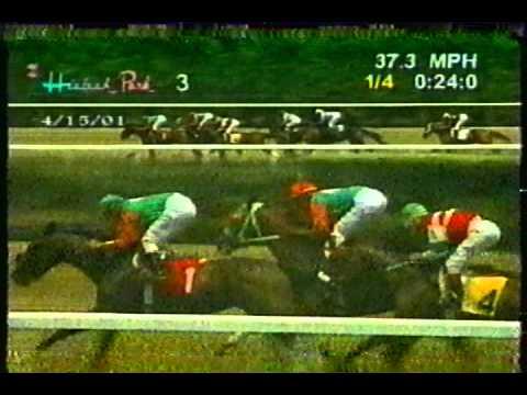 Racing Report from Hialeah Park: April 15, 2001 (Part 1)