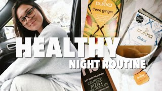 HEALTHY SPRING NIGHT ROUTINE
