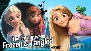THE LINK between FROZEN and TANGLED || no vox