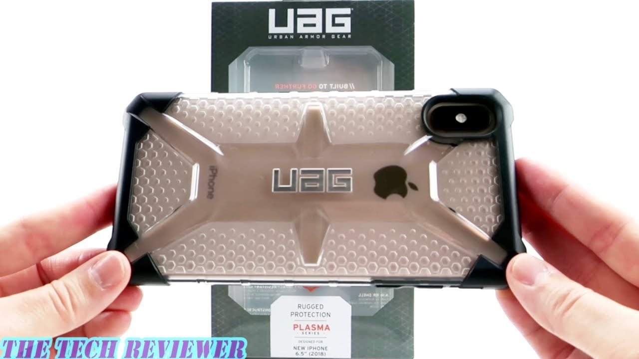huge discount dafe2 85e41 UAG Plasma ICE: Show off your Gold iPhone Xs Max with this Mil-Spec  Protective Clear Case!