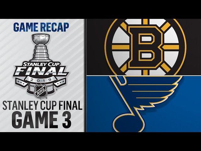 Bruins erupt for seven goals in Game 3 victory