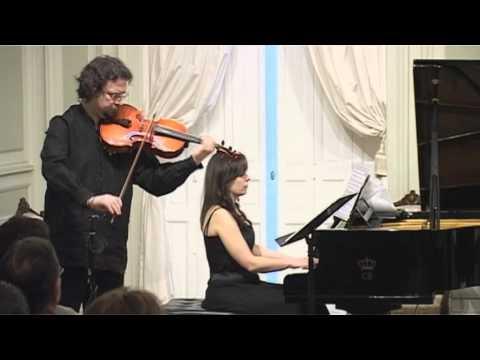 Henryk Wieniawski - Marzenie (Reverie) for viola and piano (Murawski - viola, Ufniarz - piano)