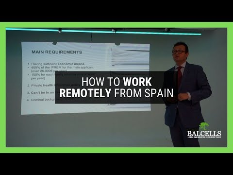 How to Work Remotely From Spain: Logistics, Legal Aspects & More