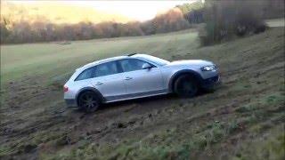test drive mud audi a4 allroad
