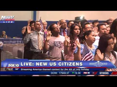 FNN: New US Citizens Event, Happy Independence Day Content