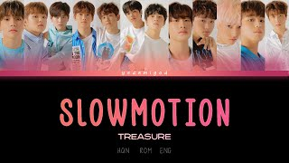 Download TREASURE(트레저) – SLOWMOTION [COLOR CODED   HAN   ROM   ENG]