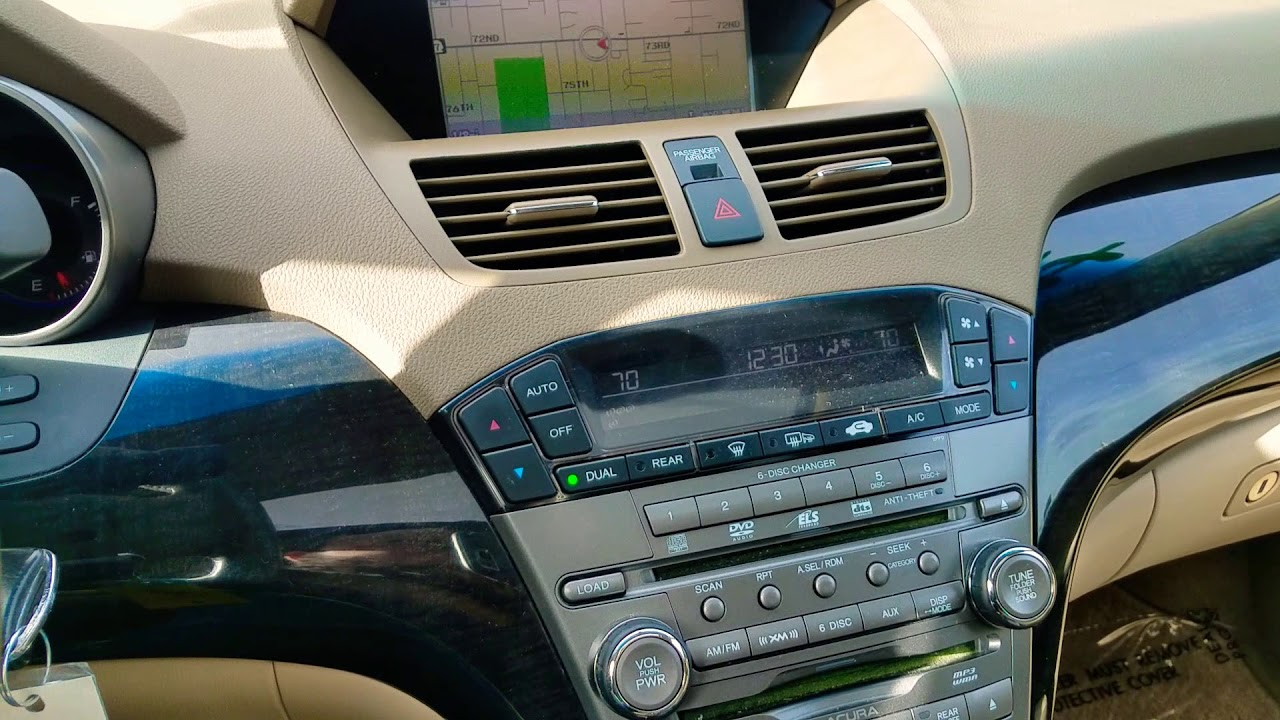 Acura MDX Navigation Serial Number And Code YouTube - Acura mdx navigation