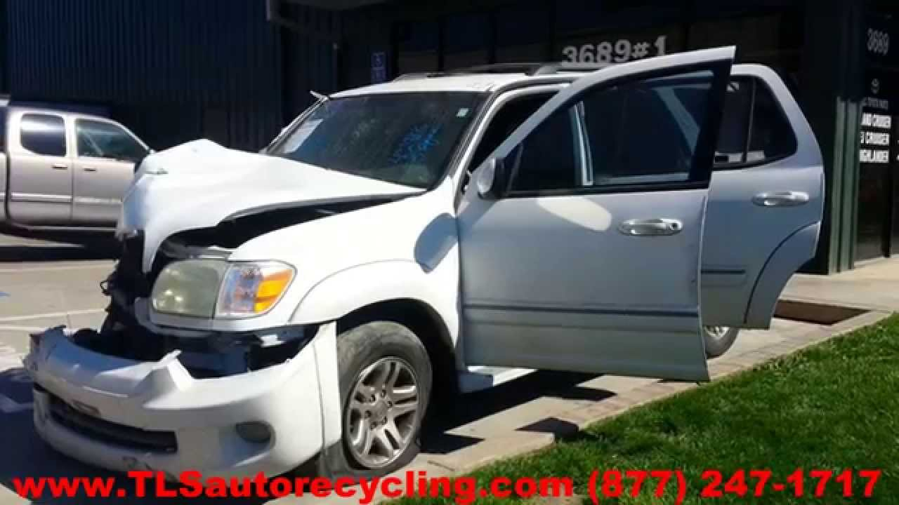 2005 toyota sequoia parts for sale save upto 60 youtube. Black Bedroom Furniture Sets. Home Design Ideas