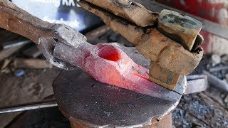 How To Make A Claw Hammer​ Using A Few Power Tools YouTube Videos