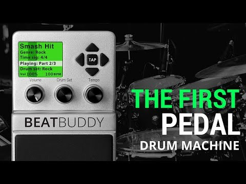 BeatBuddy: The First Guitar Pedal Drum Machine