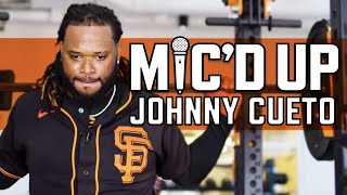 Johnny Cueto Mic'd Up