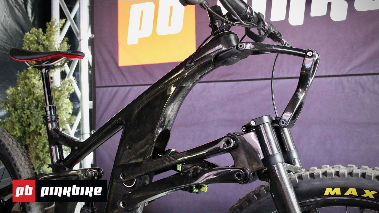 Video: Structure Cycleworks' Carbon Enduro Bike and Linkage Fork