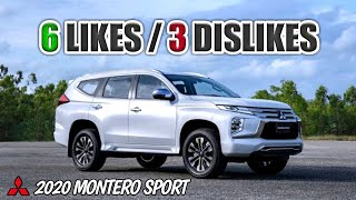 2020 Mitsubishi Montero Sport ( Likes & Dislikes ) - Philippines