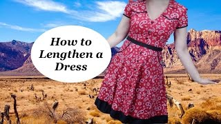 How to add length to a dress that