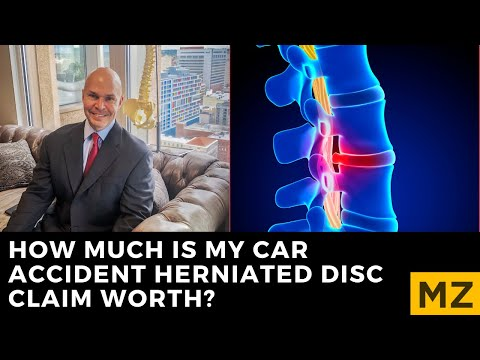 How Much Are Herniated Disc Injury Cases Worth?  Understanding the Settlement Value of Your Claim.