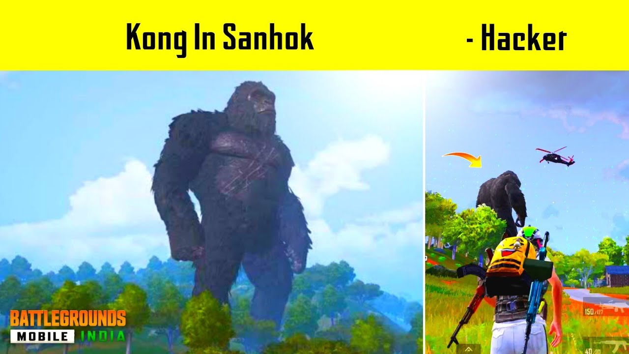 😤 Kong In Sanhok CRYSTAL MADE Me HACKER IN PUBG Mobile - Legend X