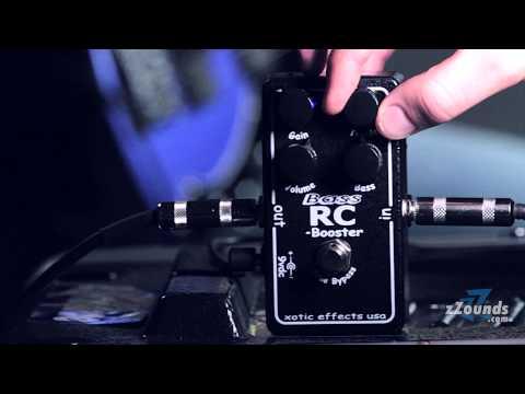Soundcheck Demos: Xotic Bass RC Booster