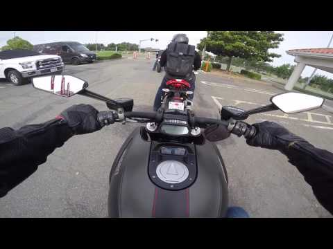 Ducati Diavel Carbon test ride at A&S Motorcycles[Motovlog]
