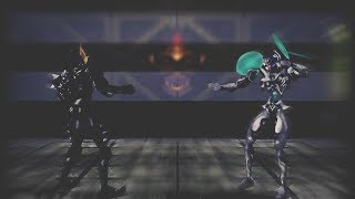 Dual Heroes - ZORR vs GEZORR (Imada) (Virtual Arcade) [Texture Mod]