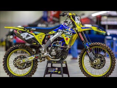 Inside Jimmy Decotis Factory JGR Suzuki RMZ250 - Motocross Action Magazine