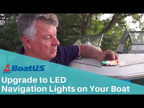 How to Add an LED Navigation Light to the Bow of Your Boat | BoatUS